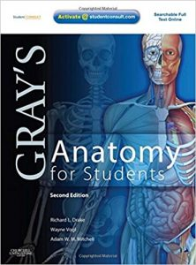 Book Cover: Gray's Anatomy for students 2nd edition