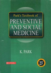 Book Cover: Park's Textbook of Preventive and Social Medicine