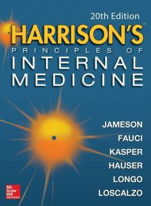 Book Cover: Harrison's Principles of Internal Medicine 20th Edition