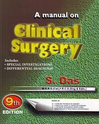 Book Cover: S.Das Manual Of Clinical Surgery