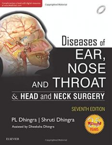 Book Cover: Diseases of Ear, Nose and Throat
