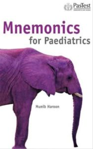 Book Cover: Mnemonics for Paediatrics – 1st edition