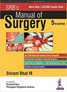 Book Cover: SRB Manual of Surgery 5th Edition
