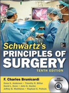 Book Cover: Schwartzs Principles of Surgery 10th Edition