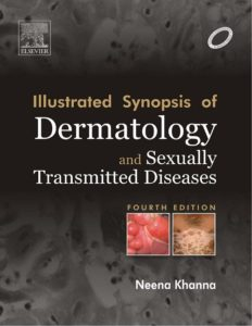 Book Cover: Illustrated Synopsis of Dermatology - Neena Khanna