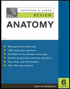 Book Cover: Appleton & Lange Review of Anatomy