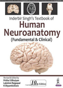 Book Cover: Inderbir Singh's Textbook of HUMAN NEUROANATOMY