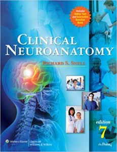 Book Cover: Richard S Snell Clinical Neuroanatomy