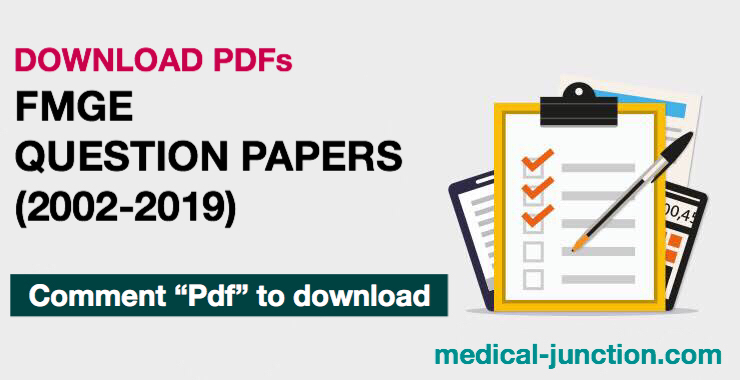 FMGE Question Papers (2002-2019)