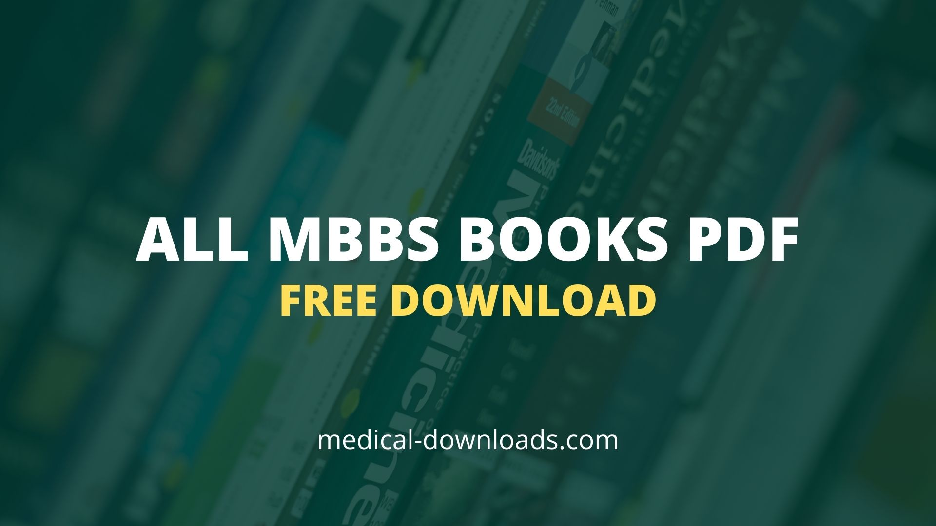 Download MBBS books